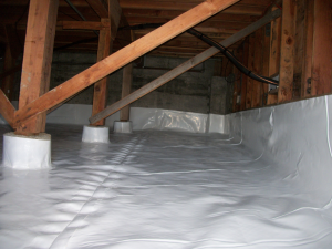 Vapor barrier crawlspace encapsulation northwest for Crawl space insulation cost estimator